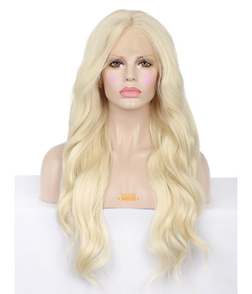 Bleach Blonde Lace Front Wig