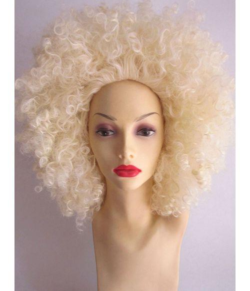 Blonde Afro Wig Disco Large