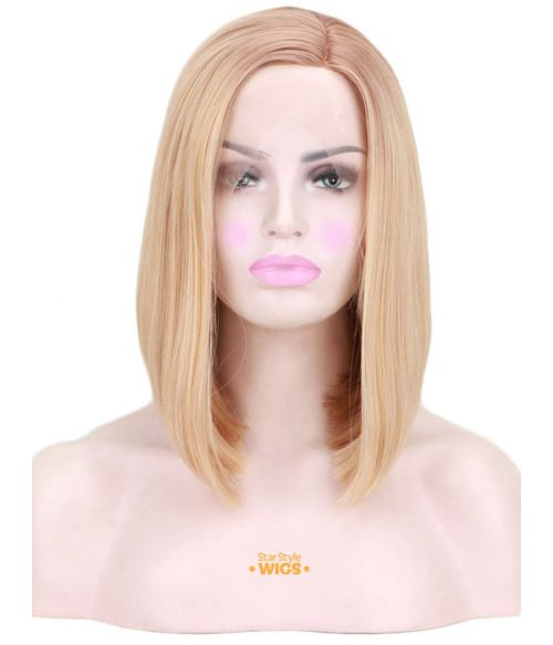 Blonde Bob Wig Natural Lace Front