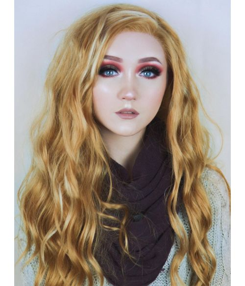 Blonde Wavy Wig Lace Front