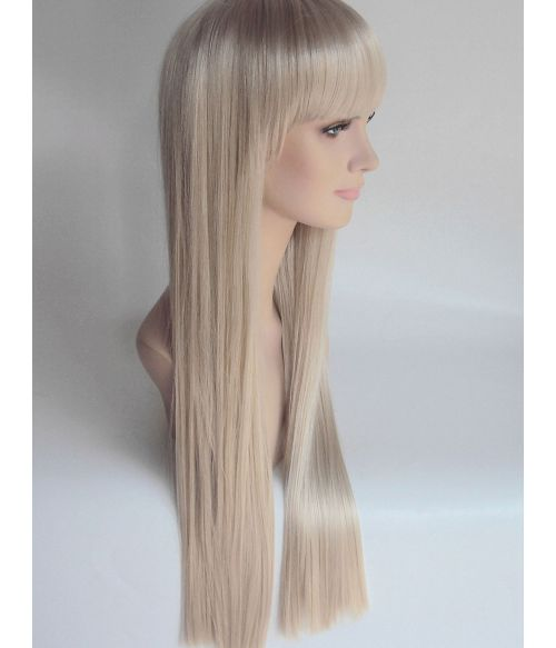 Blonde Wig Long With Fringe