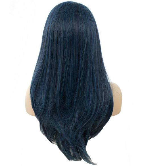 Blue Wig Lace Front