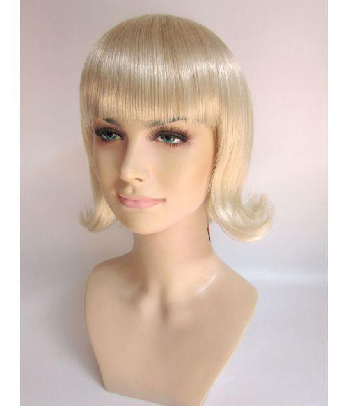 Bob Wig Blonde 50s