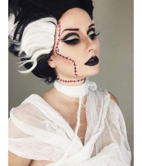 Bride Of Frankenstein Wig Cosplay