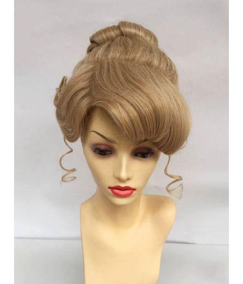 Cinderella Wig Bun Disney Adult