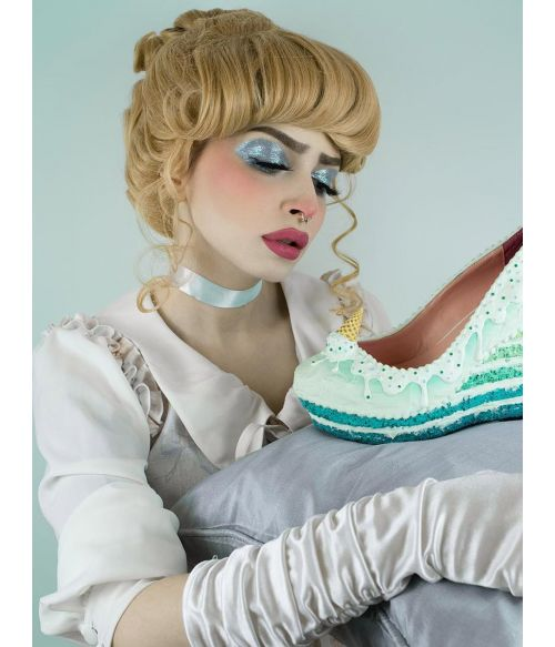 Cinderella Wig Cosplay Adult