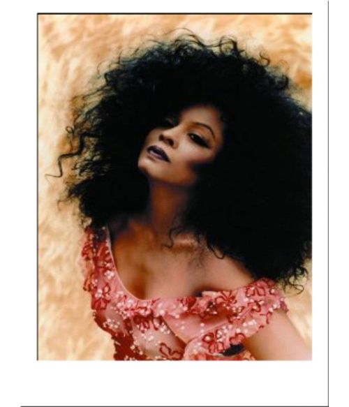 Diana Ross Black Afro Wig UK