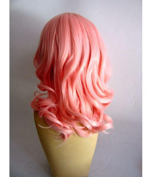 Peach Pink Wig