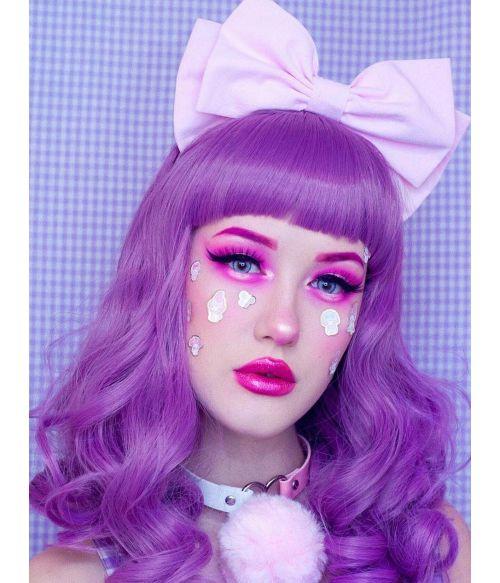 E Girl Wig Purple