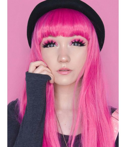 Emo Wig Pink