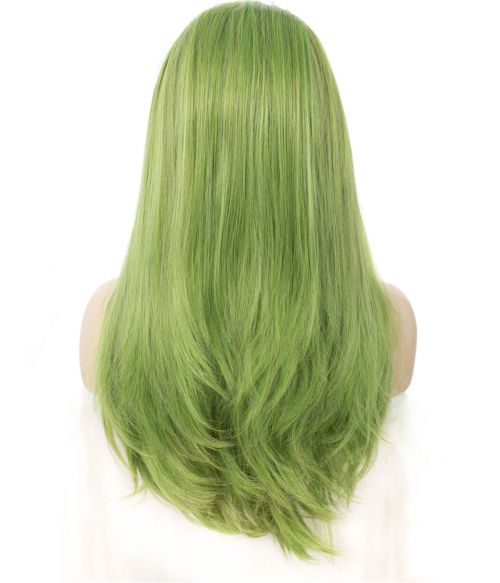 Green Lace Frontal Wig