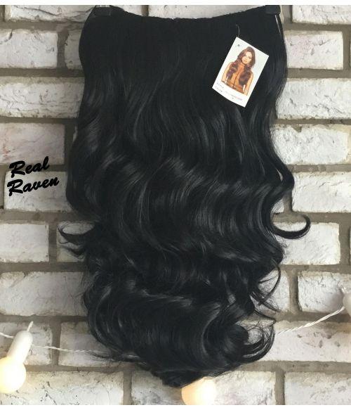 Half Wig Black Wavy