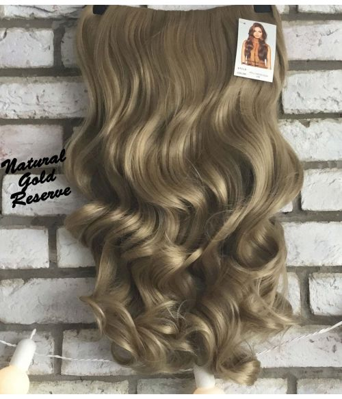 Half Wig Gold Blonde Curly