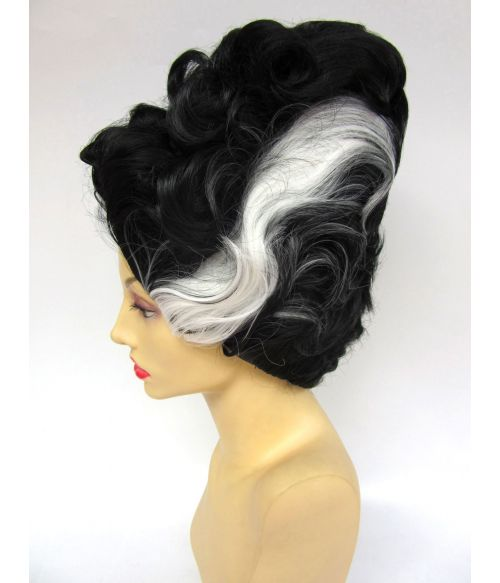 Halloween Bride Of Frankenstein Wig