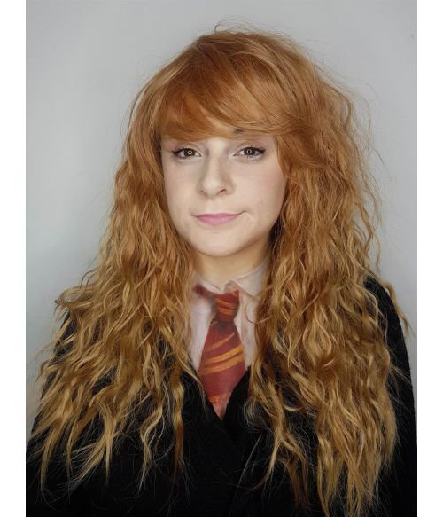 Hermione Granger Wig Cosplay