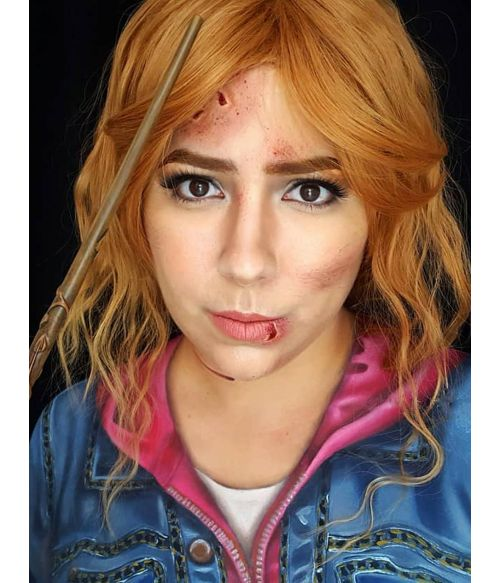 Hermione Wig Deathly Hallows Cosplay
