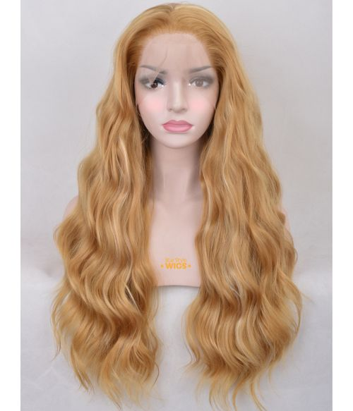 Honey Blonde Wig