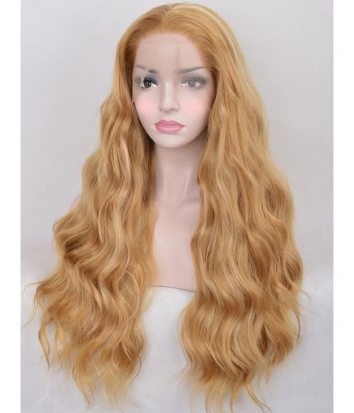 Honey Blonde Wig Lace Front