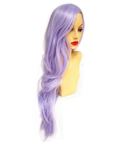 Lilac Wig Long Purple