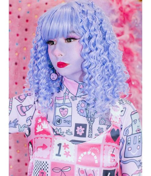 Kawaii Wig Blue