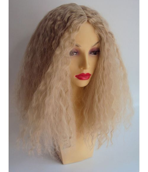 Kinky Curly Wig Blonde