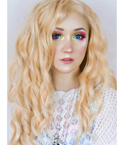 Light Blonde Lace Front Wig