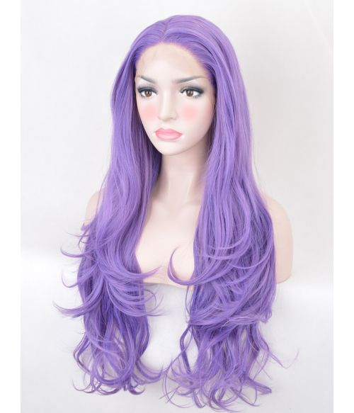 Light Purple Wig Lace Front