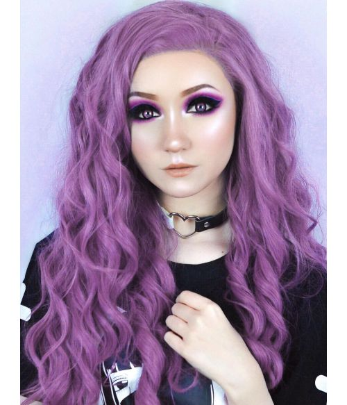Light Purple Wig Lilac Lace Front