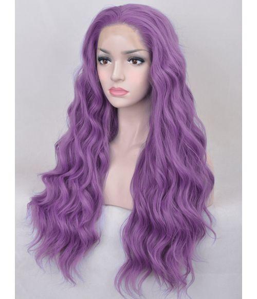 Light Purple Wig Long Lace Front