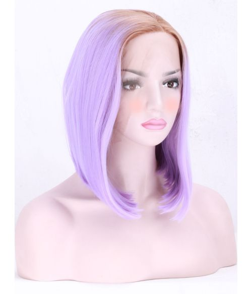 Lilac Bob Synthetic Lace Front Wig