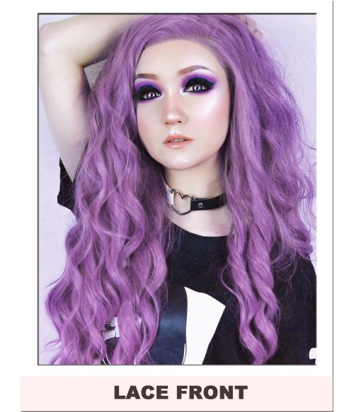 Lilac Purple Lace Front Wig