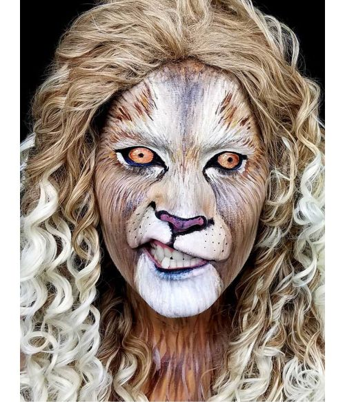 Lion Wig Cosplay Costume