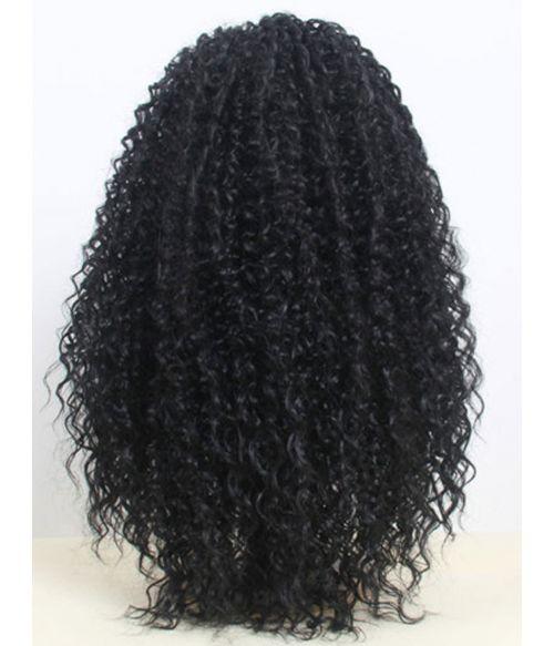 Long Afro Wig Black