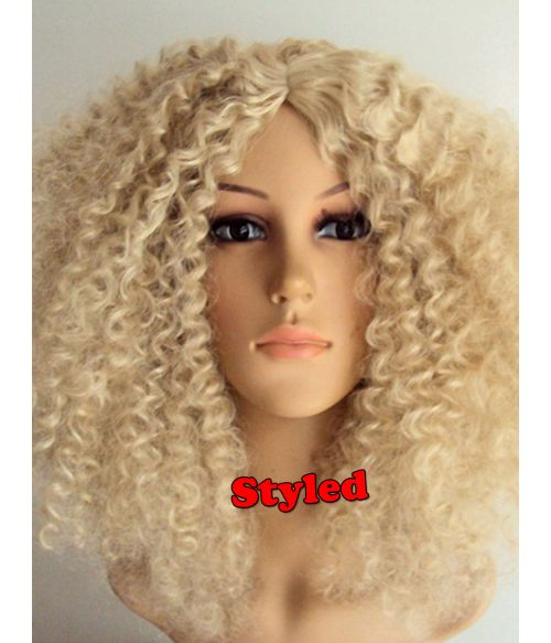 Afro Wig Blonde