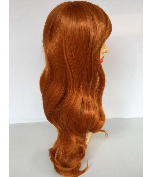 Long Ginger Wig Wavy