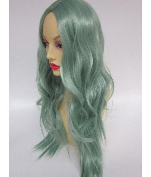 Green Wig Pastel