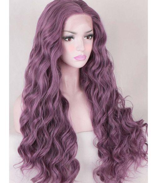 Mauve Wig Lace Front