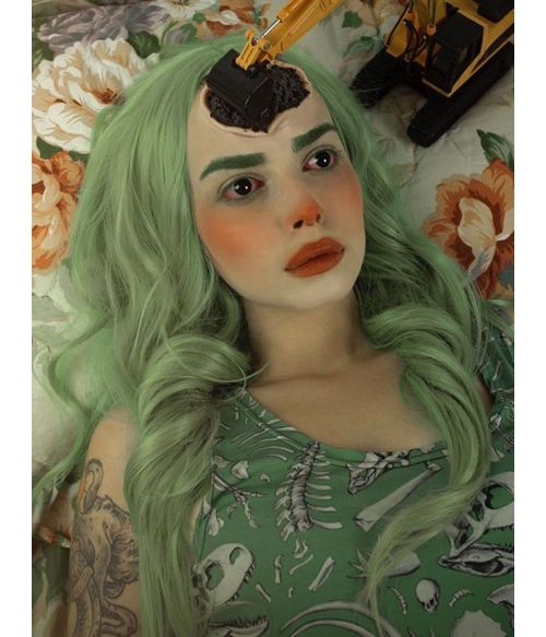 Mint Green Wig Lace Front