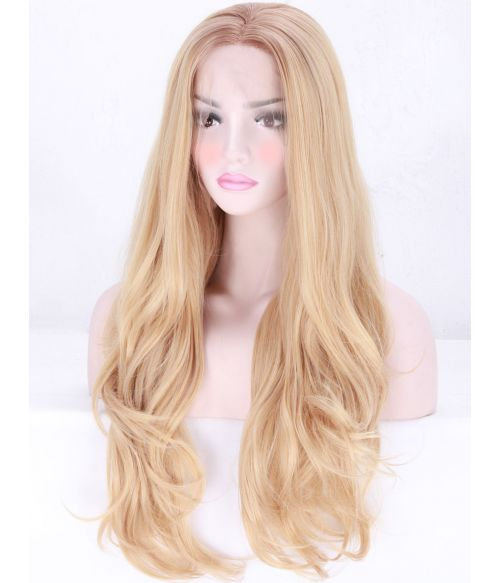Natural Blonde Wig Lace Front