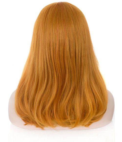 Orange Mix Lace Front Wig