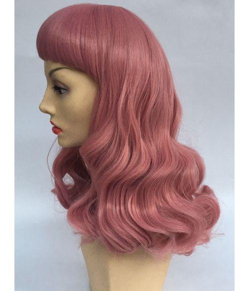Pink Wig Pin Up