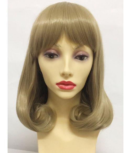 Pageboy Wig Blonde With Bangs