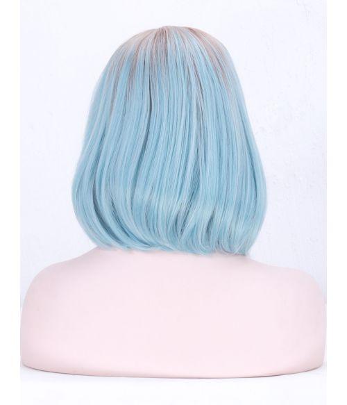 Blue Wig Bob