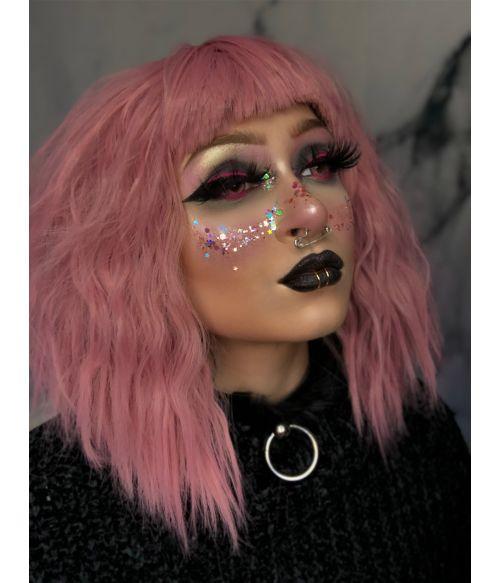 Pastel Goth Wig Pink