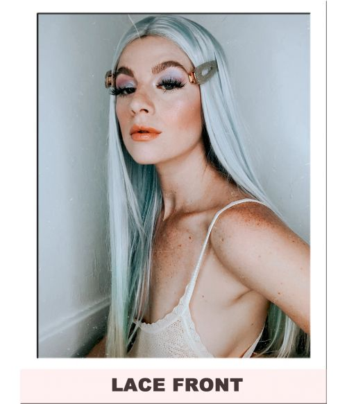 Pastel Ombre Lace Front Wig UK