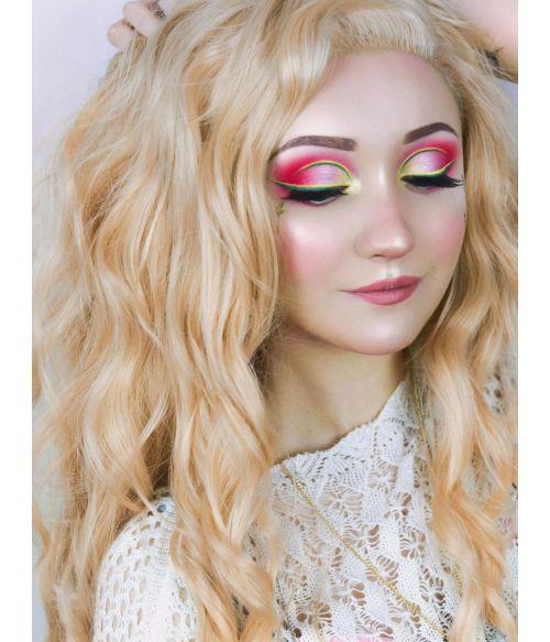 Peach Blonde Wig