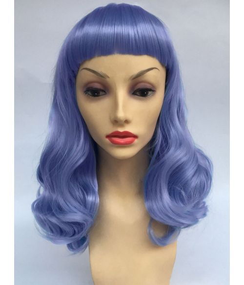 Pin Up Wig 50s Blue