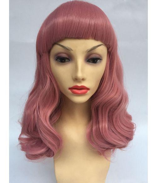 Pin Up Wig 50s Pink