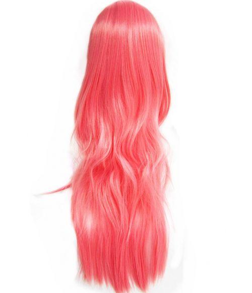 Pink Wig Long Wavy