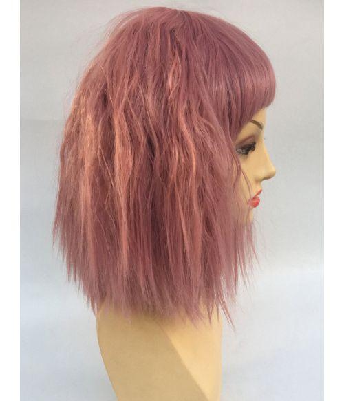 Pink Wig Wavy